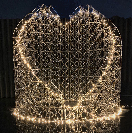 DIAMOND TOWER      LIght UP