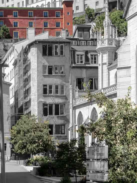Lyon-Frankreich-Farbreduziert