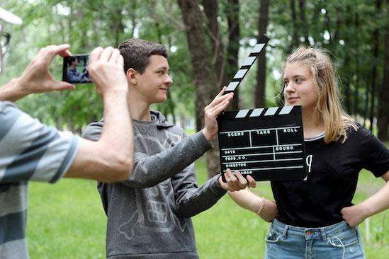 film drehen, ein besonderes Geschenk zum Geburtstag, zur Jugendweihe oder Konfirmation