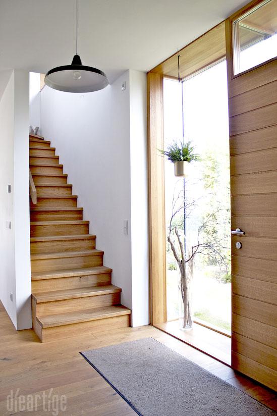 dieartigeBLOG - Haus - Der Eingangs-Flur | Eiche