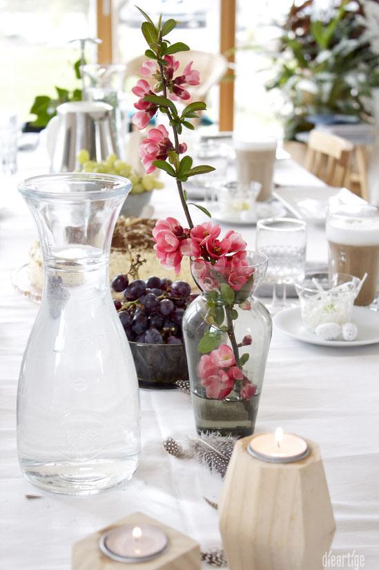dieartigeBLOG - Oster//Frühlings-Tischdekoration