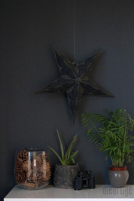 dieartigeBLOG - Anthrazit als Wandfarbe im Eingangsbereich/Flur