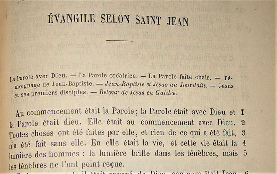 En Jean 1:1, nous lisons: « et la Parole était dieu. » Jésus est considéré comme un être divin, d'essence divine, il est un dieu.
