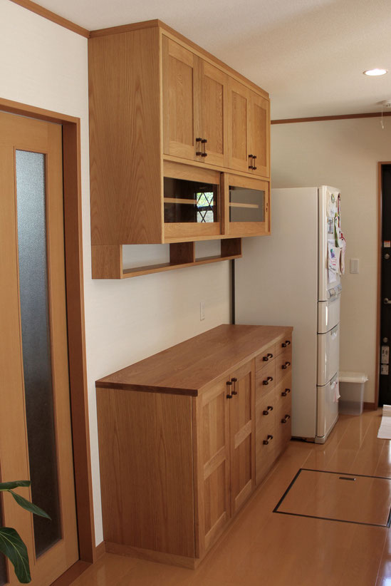 キッチン壁面収納(鎌倉市・M様邸)