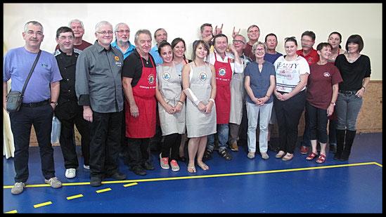 Candidats et membres du jury du concours 2014