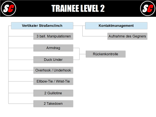 SC Int'l - Street Combatives - Trainee Program Level 2 (deutsch)