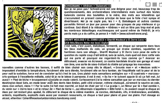Revue Kafzic #70 - Fanzine du Café Music, Mont de Marsan (Fr)