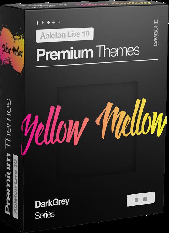 Ableton Live 10 theme YellowMellow Software Box