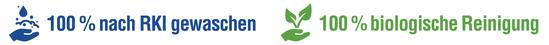 mueden.de, aktuelle Werbung, Schaufensterbeschriftung GHF, RKI-gewaschen, biologisch gereinigt