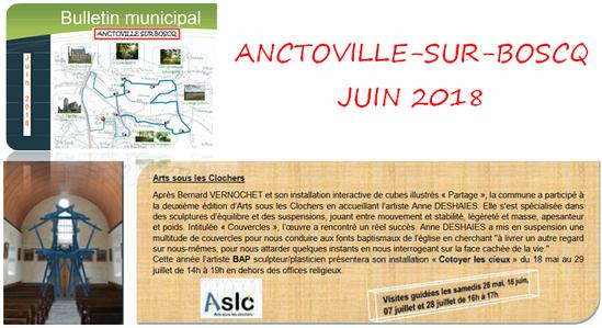 Bulletin municipal - Anctoville-sur-Boscq - Juin 2018