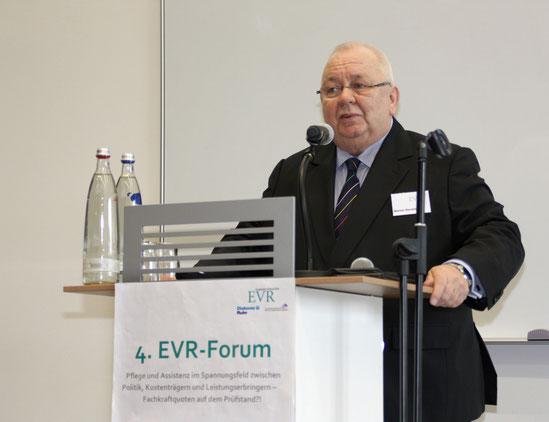 EVR-Vorstand Werner Neveling