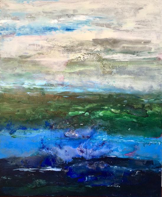 Wildes Wasser | 120 x 100 cm