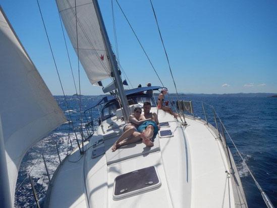 Segeln im Mittelmeer. Von Sardinien über Mallorca nach Gibraltar und Portugal Algarve