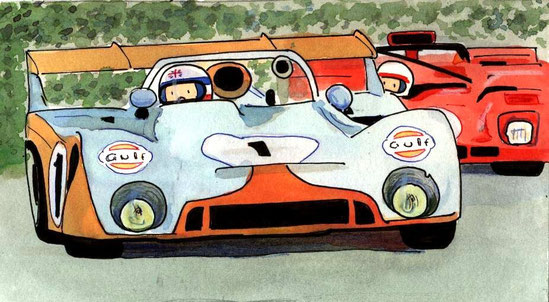 Derek Bell by Muneta & Cerracín