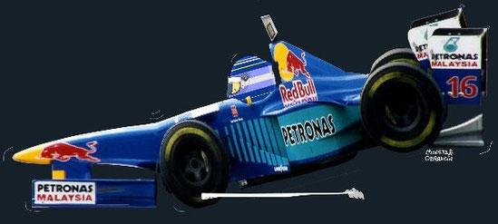 Norberto Fontana by Muneta & Cerracín - Red Bull Sauber Petronas C16 1997