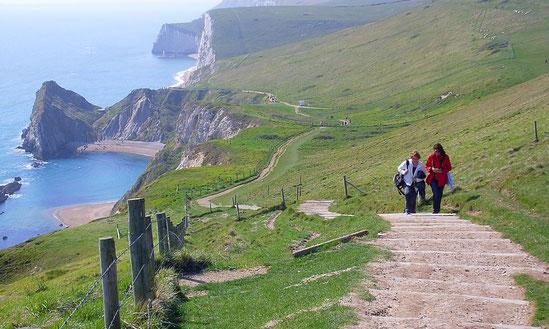 Wanderweg Dorset Küste