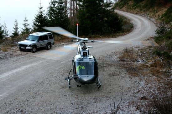 Planung von wirtschaftlichen Helikopter-Einsätzen