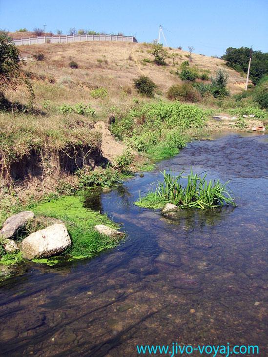 река Альма, Вилино
