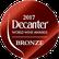 Budureasca Premium Fetească Neagră 2014: Bronzemedaille, Decanter 2017