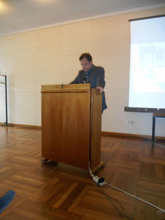 Martin Frenzel während seiner Rede, 20.Mai 2014