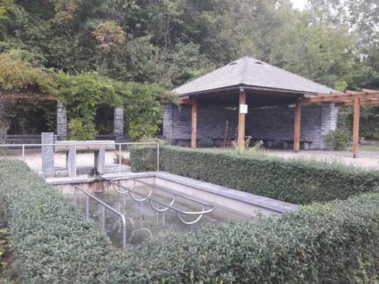 Kneippbecken im Engelhalde Kempten