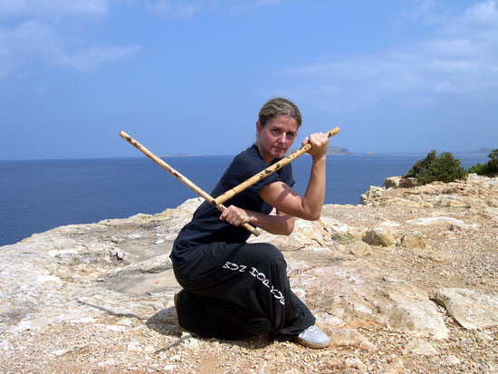 Sifu Martina Baumagardt, 6. Level VGT Eskrima