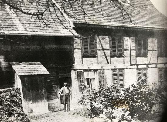 der Vater und das Wohhaus von Frieda Seiler