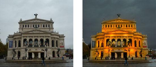 Vorher-Nacher: Alte Oper Frankfurt (2012)