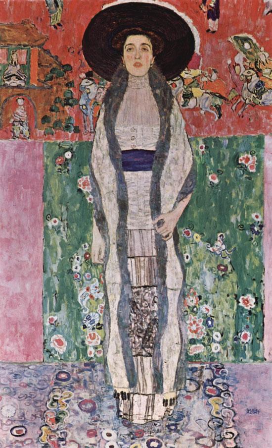 《アデーレ・ブロッホ=バウアーの肖像Ⅱ》1912年
