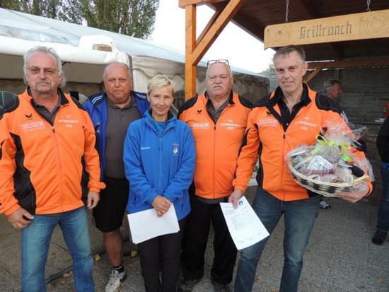 1. Platz SG Schmidsdorf KÜB Schlag Josef, Deller Alois, Starker Manfred, Stögerer Anton