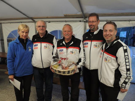 1. Platz SG Pottschach-Eisbären Neunkirchen