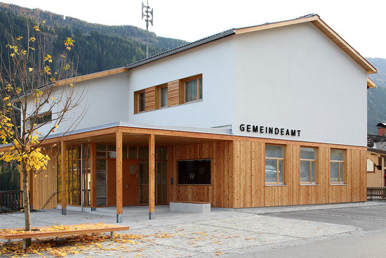 Amtsgebäude - barrierefreier Umbau und generalsaniert 2017 ...  (Foto: Christian Brandstätter)