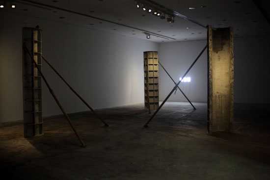 Sofiane Zouggar,  Algeria, Contemporary Algerian art, Sharjah, UAE, Sharjah Foundation, Formwork, Algerie