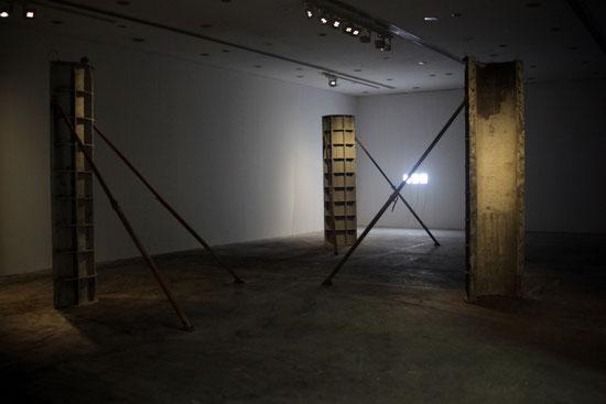 Sofiane Zouggar,  Algeria, Contemporary Algerian art, Sharjah, UAE, Sharjah Foundation, Formwork, Algerie