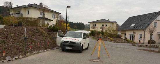 Grundstücksteilung, Sonderung, Grenzwiederherstellung und amtliche Grenzanzeige sind hoheitliche Grenzvermessungen.