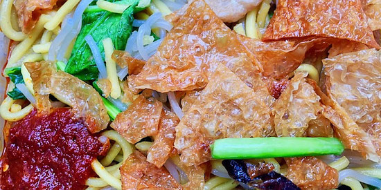 hokkien noodles from fang lin vegetarian jurong west singapore