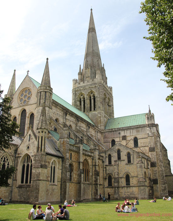 Sehenswürdigkeiten Chichester, England: Kathedrale von Chichester