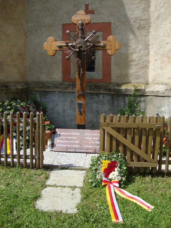 Für die Opfer der Kärntner Windischen durch die Tito Partisanen      Foto.Privat