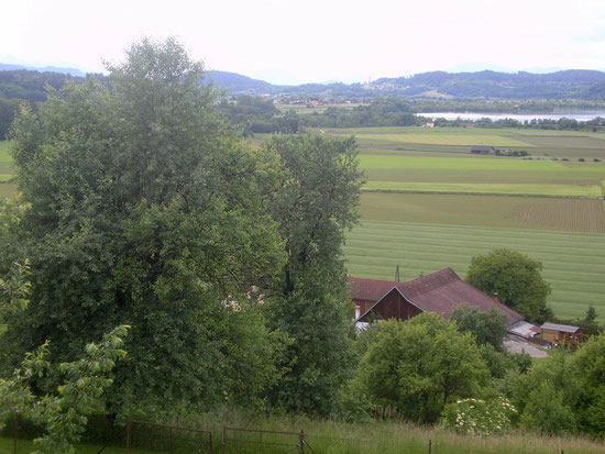 Blick von St. Marxen auf Tainach