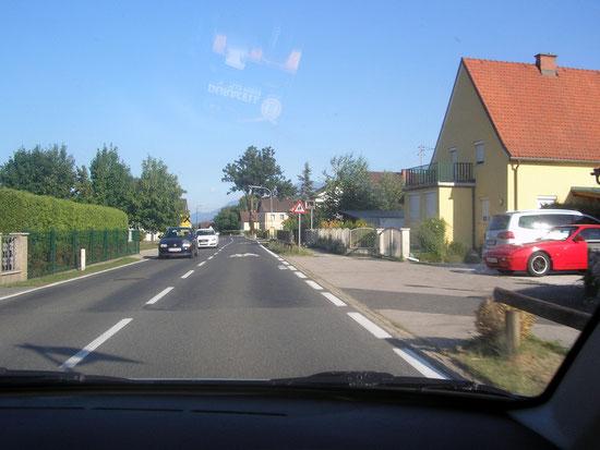 Tainach Einfahrt von Klagenfurt