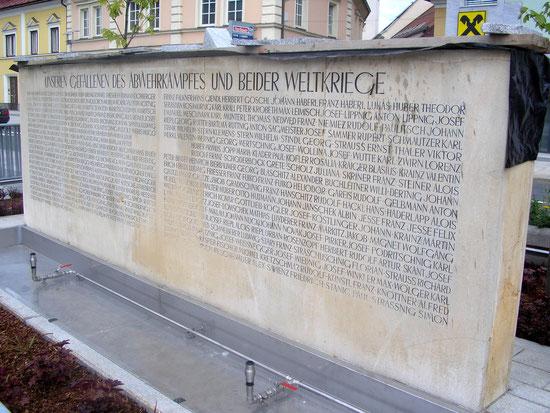 Denkmal der Gefallenen in Völkermarkt