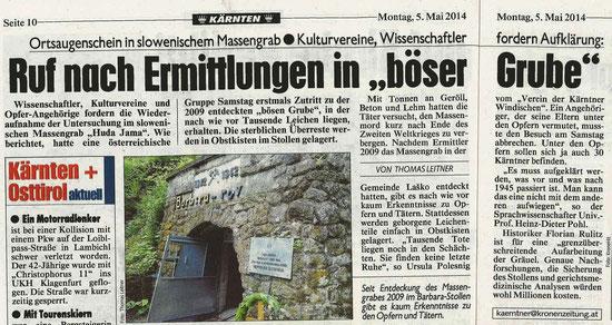 Bericht Kärntner Krone
