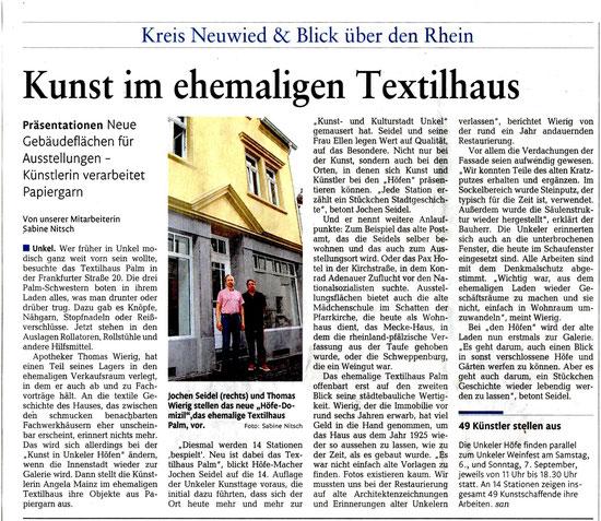 Rhein-Zeitung Nr. 177 Samstag, 2. August 2014