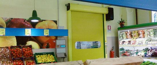Puerta Rápida Enrollable Supermercado - BMP