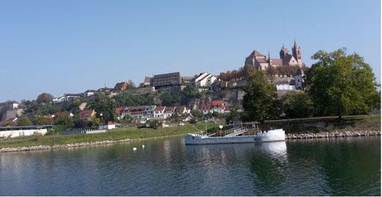 Breisach vom Rhein aus