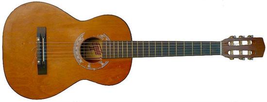 Konzertgitarre Hondo II (Arai-Matsumoku, made in Japan), 3/4 Größe für 8-12jährige Schüler.