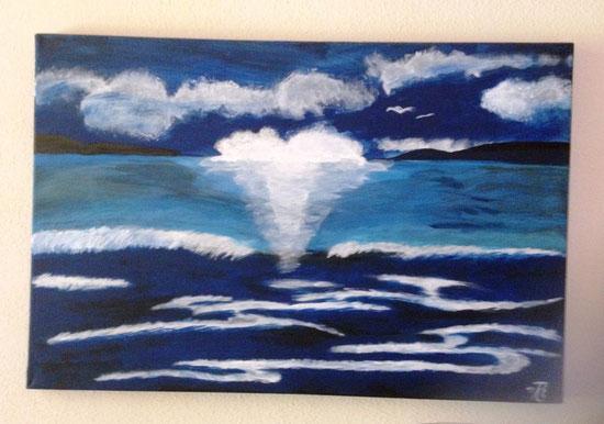 """Copyright 2011 Thomas Lindt """"Sonne, Meer und Wellen"""""""
