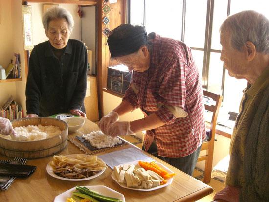 巻寿司づくり