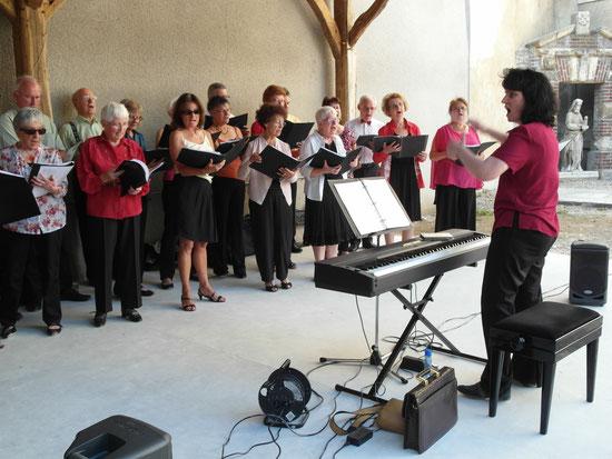 Fête de la Musique le 21 juin 2014 (une partie du choeur)