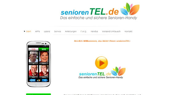 Download und Installation der Apps von dieser Seite: